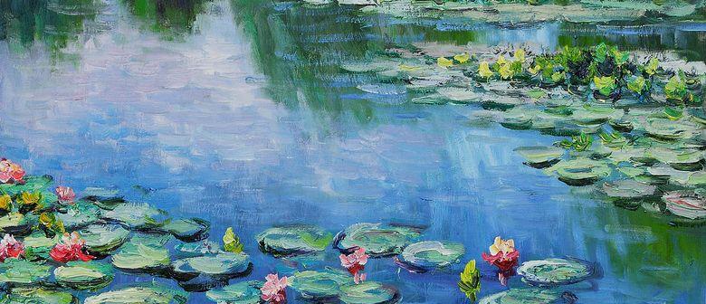 Le ninfee dipinte da Claude Monet